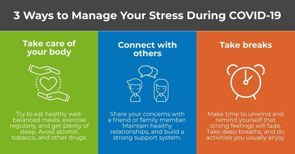 3 Ways to Manage Your Stress During COVID-19